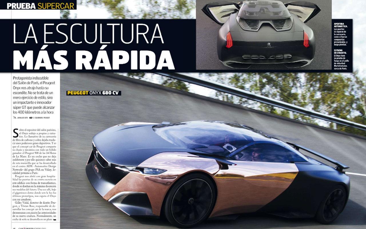 Car and driver revista screenshot
