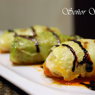 Beef-stuffed Cabbage Rolls.