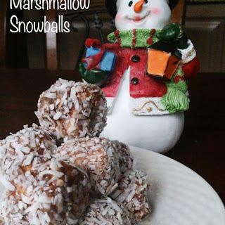 Chocolate Marshmallow Snowballs
