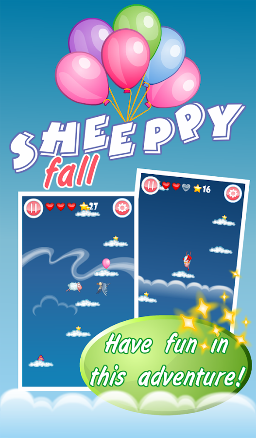 Sheeppy Fall - screenshot