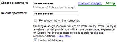 انتخاب یک رمز عبور مناسب