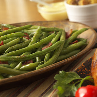 Spicy Turkey Bacon Green Beans