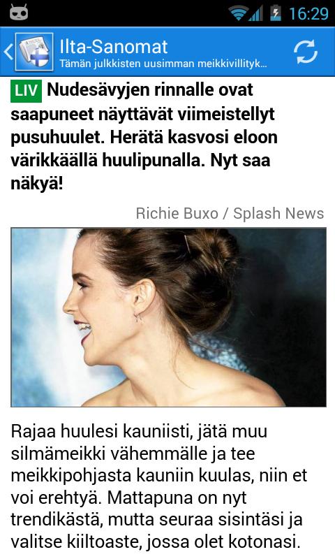 Suomi Uutiset - screenshot