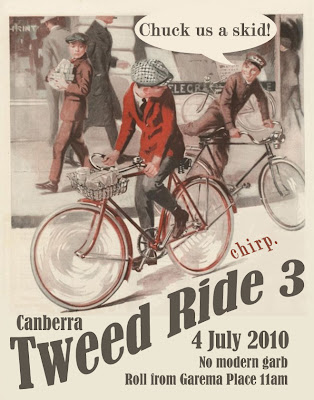 Tweed ride poster