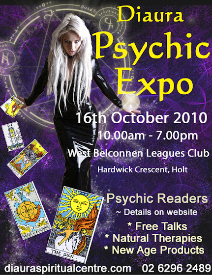psychic expo poster