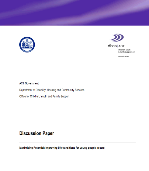 discussion paper cover