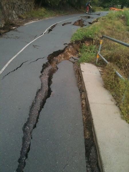 cycle path damage