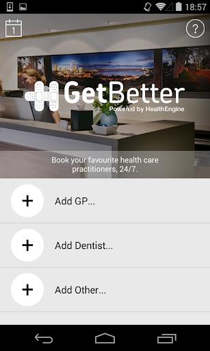 GetBetter - Get Better Sooner