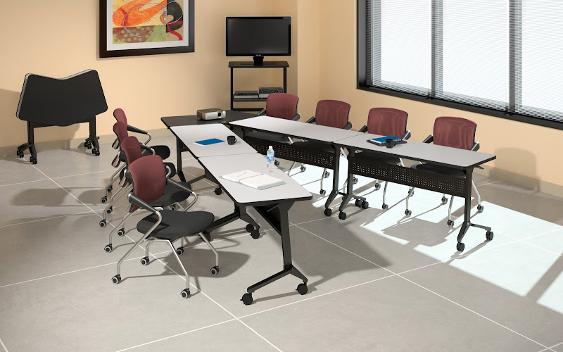 Clroom Training Tables Meeting