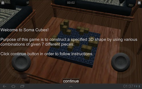 Soma Cubes - screenshot thumbnail
