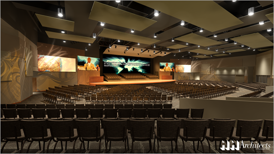 hh architects  north dallas community bible fellowship