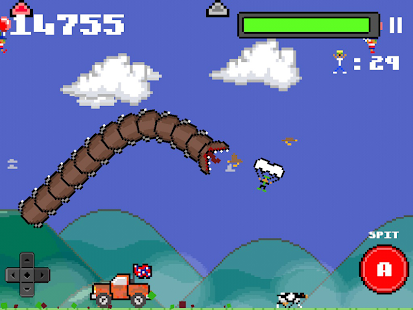 Super Mega Worm - screenshot thumbnail