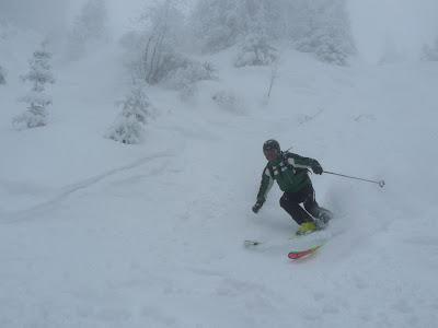 strassen querung für skifahrer