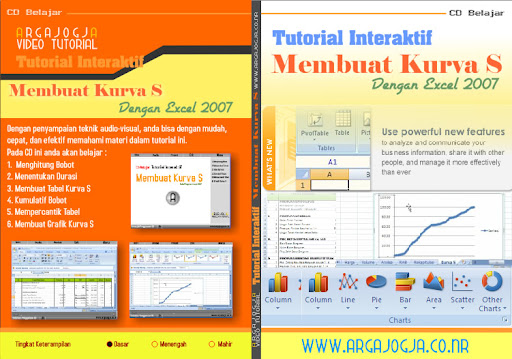 Video Tutorial Cara Membuat Kurva S Dengan Program Excel 2007 Available Now..!!