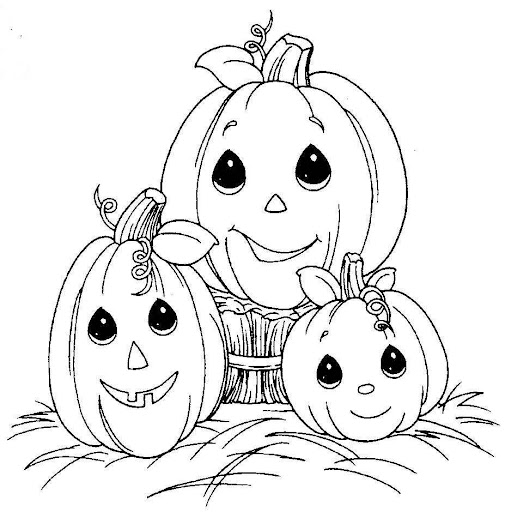 precious moments coloring pages autumn - photo#26