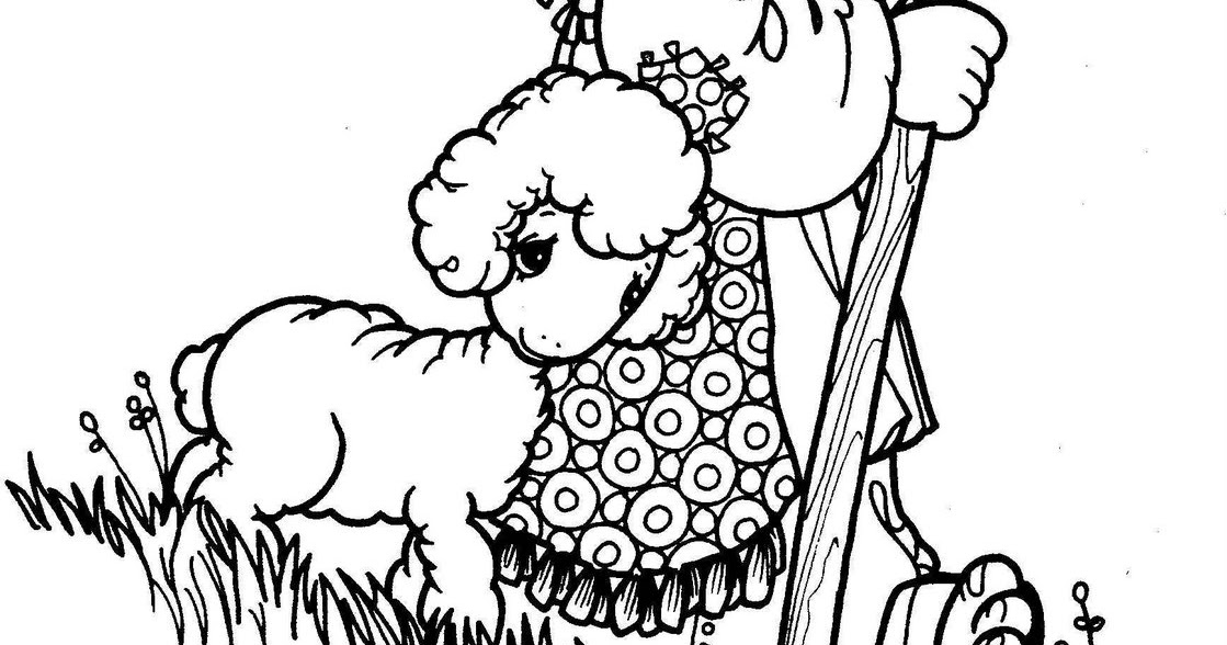 Shepherd Precious Moments Coloring Pages Coloring Pages