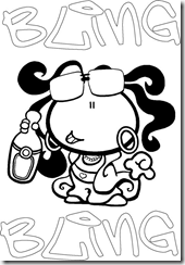 Bubblegum coloring pages coloring pages gallery for Gum coloring pages