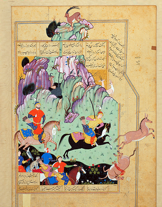 Persian manuscript paintings