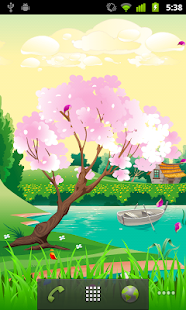 Seasons Spring Live Wallpaper - screenshot thumbnail