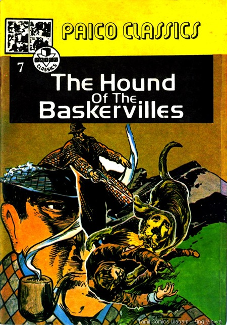 Paico Classics English Edition Issue No 7 Dated Oct 1987 Sherlock Holmes Hound of Baskerwille Cover
