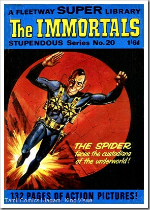 Fleetway SS 20 Dated Oct 1967 The Immortals Baadhala Porattam