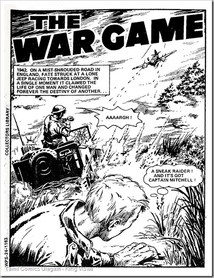 True War Pictire Stories Issue No 24 1st Page