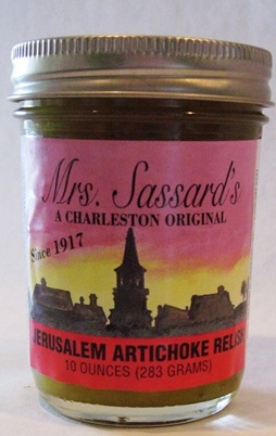 mrs sassards artichoke relish