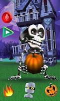 Screenshot of Talking Skeleton
