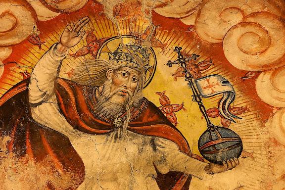 Pintures renaixentistes de l'església de Santa Maria d'Arties, 1580, Naut Aran, Val d'Aran, Lleida