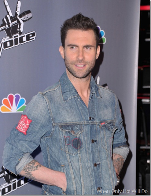 Adam Levine NBC Voice Press Conference