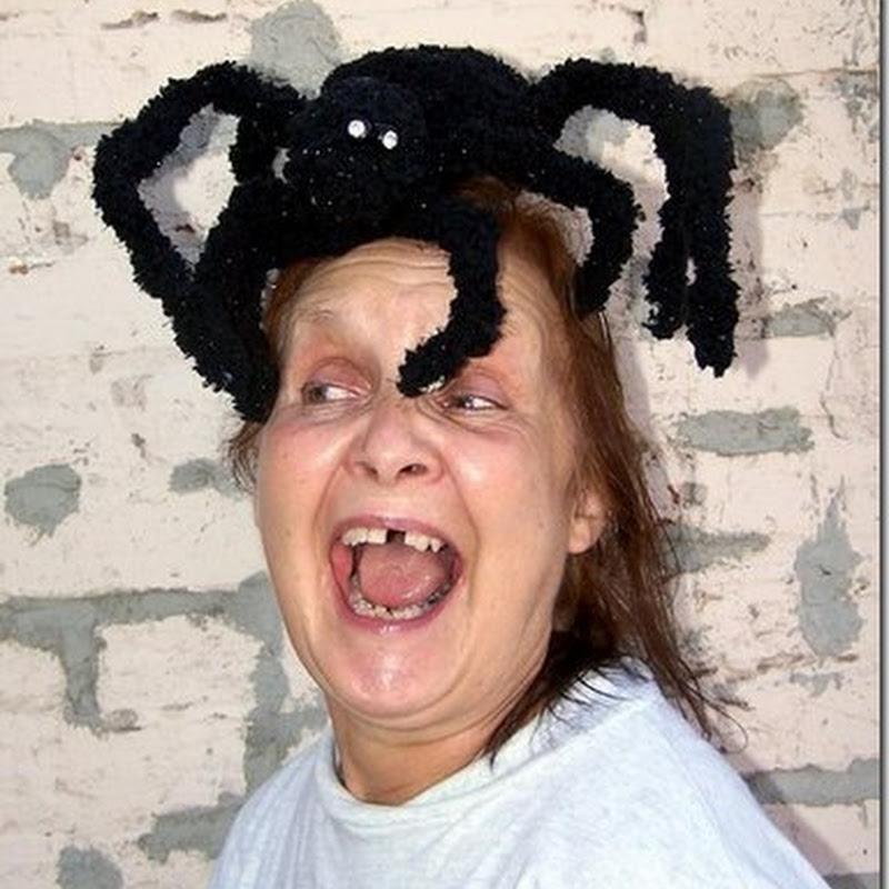 sombrero araña para halloween
