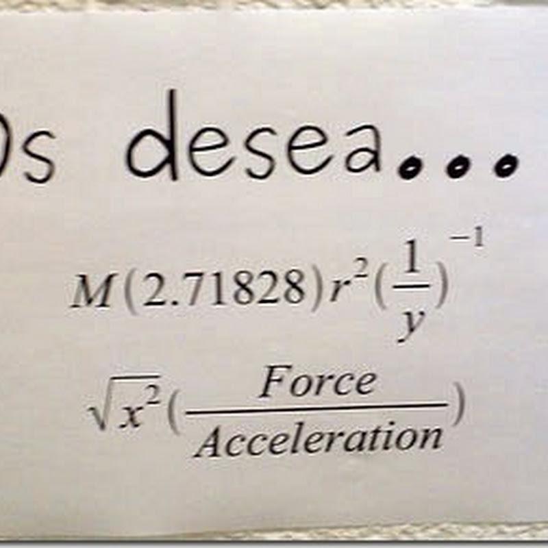 Felicitación Navideña matemáticos