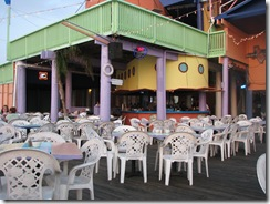 5349 5 25pm Where are the customers Louie's Backyard South Padre Island Texas