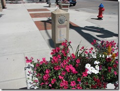 1152 Lincoln Highway Concrete Marker Cheyenne WY