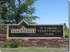 1337 Wyoming Territorial Park Prison that held Butch Cassidy Laramie WY