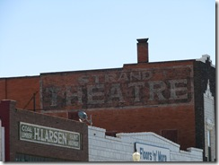 1475 Ghost Sign Strand Theater Rawlins WY