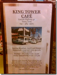 0268a King Tower Cafe Tama IA