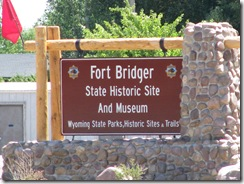 1588 Museum at Fort Bridger WY