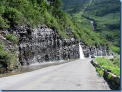 9538 Weeping Wall Going To The Sun Road GNP MT