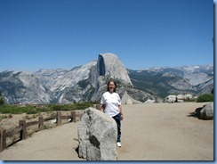 2263 Half Dome at Glacier Point YNP CA