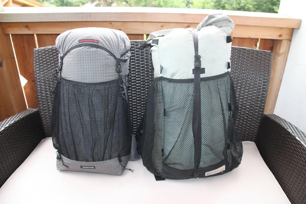 Laufbursche Huckepack und Gossamer Gear Maripoasa Plus