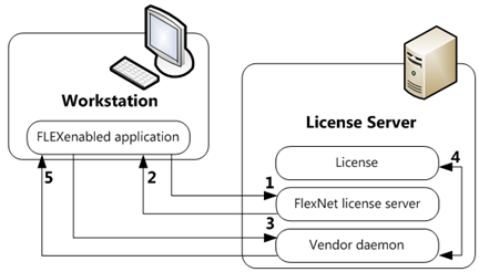FlexNet - license checkout process