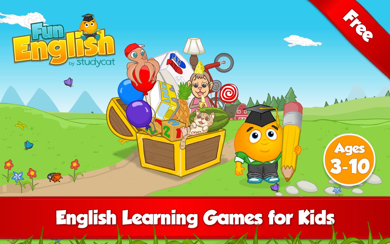 Fun English Learning Games - screenshot