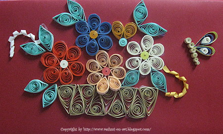 Quilling Patterns Designs Calligraphy Art Drawing Painting
