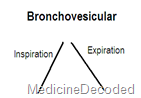 bronchovesicular sound