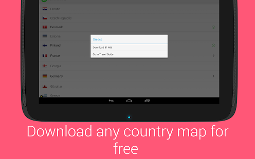 Maps With Me Pro, Offline Maps - screenshot thumbnail