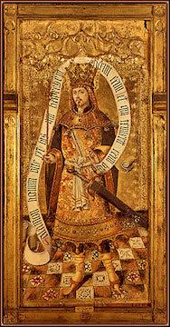 Rey Salomón (h. 1460), por Joan Reixach