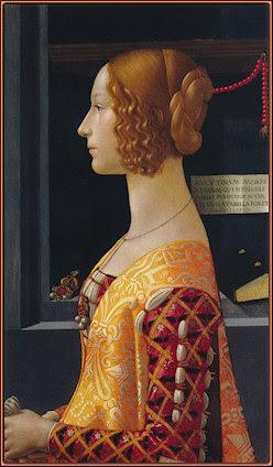 Retrato de Giovanna Tornabuoni, por Domenico Ghirlandaio. Museo Thyssen-Bornemisza