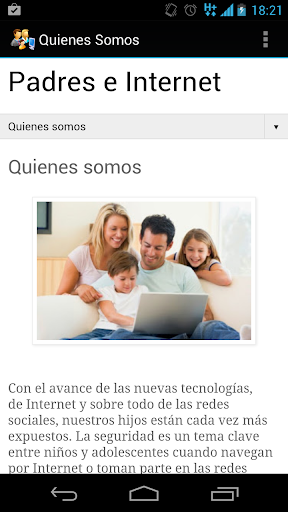 【免費社交App】Padres e Internet-APP點子