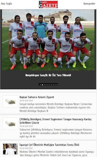 Nevşehir Gazete